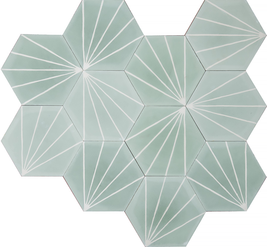 Dandelion Celadon Milk Marrakechdesign