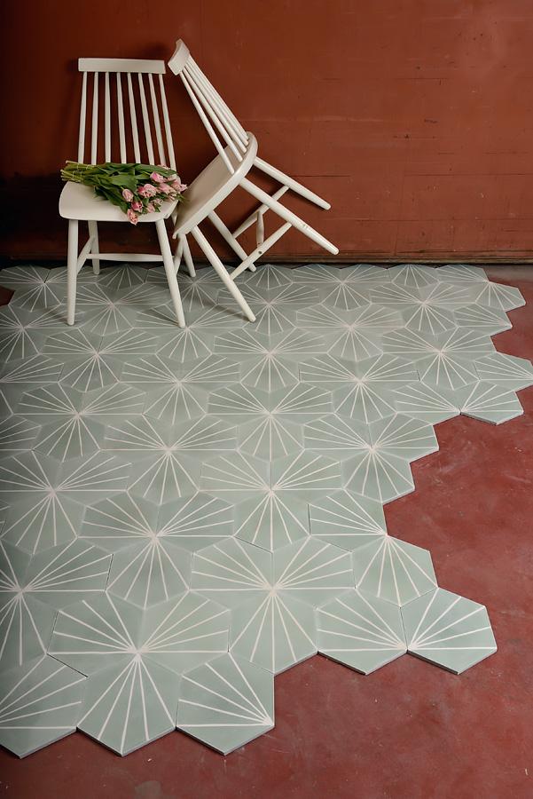 Dandelion Celadonmilk MarrakechDesign - Inspirational carrelage épaisseur 6 mm