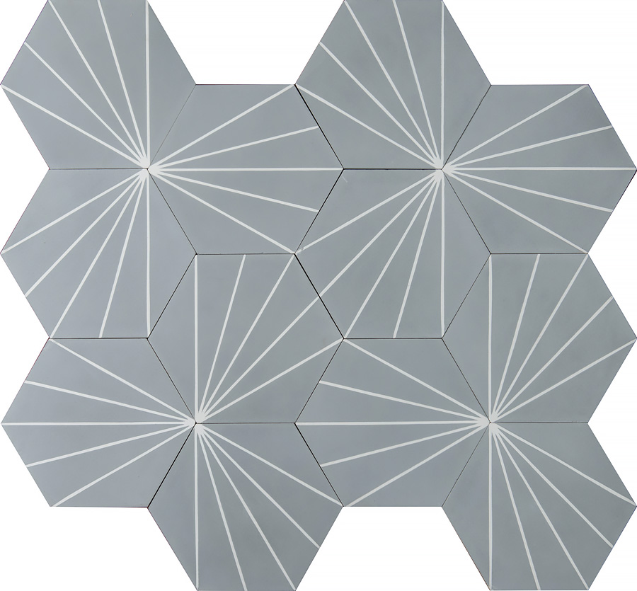 Dandelion – stonegrey/white