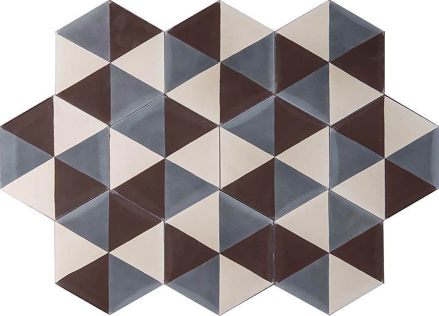 Popham design Hex zulu – oyster/cocoa/bone