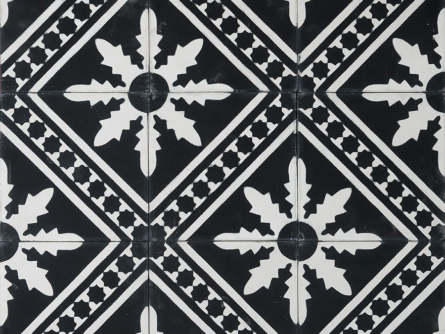 Palmblad – black