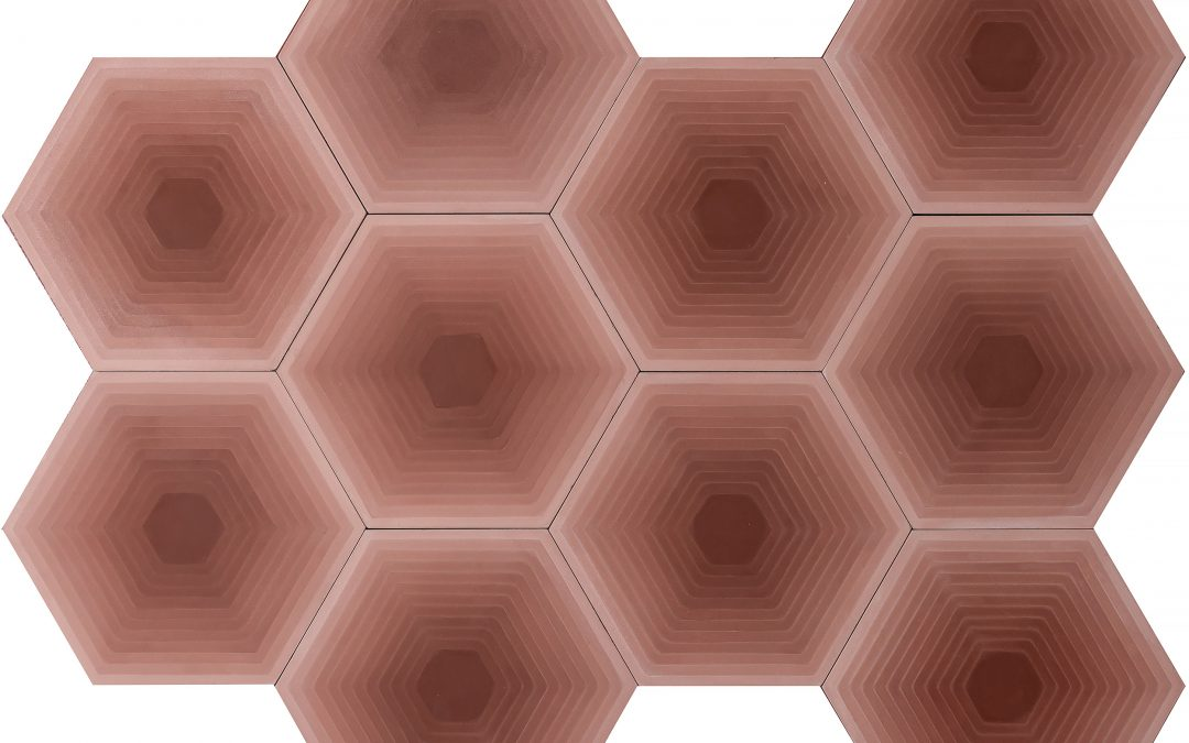 FOUR ELEMENTS / Hexagon Red