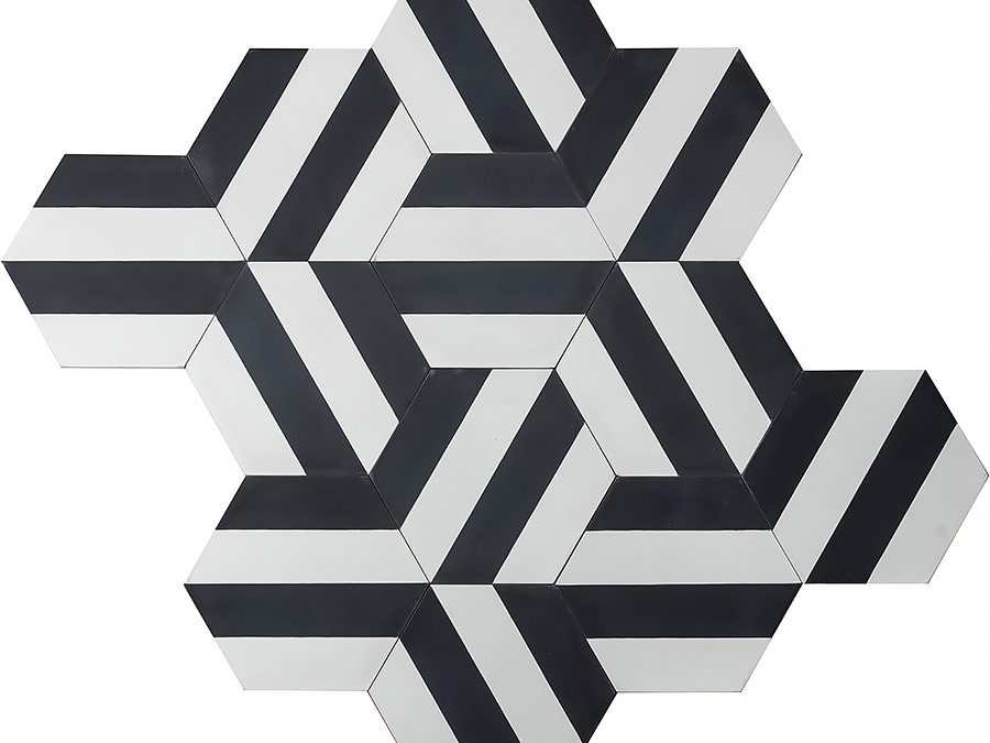 Kimono B – charcoal/pure white