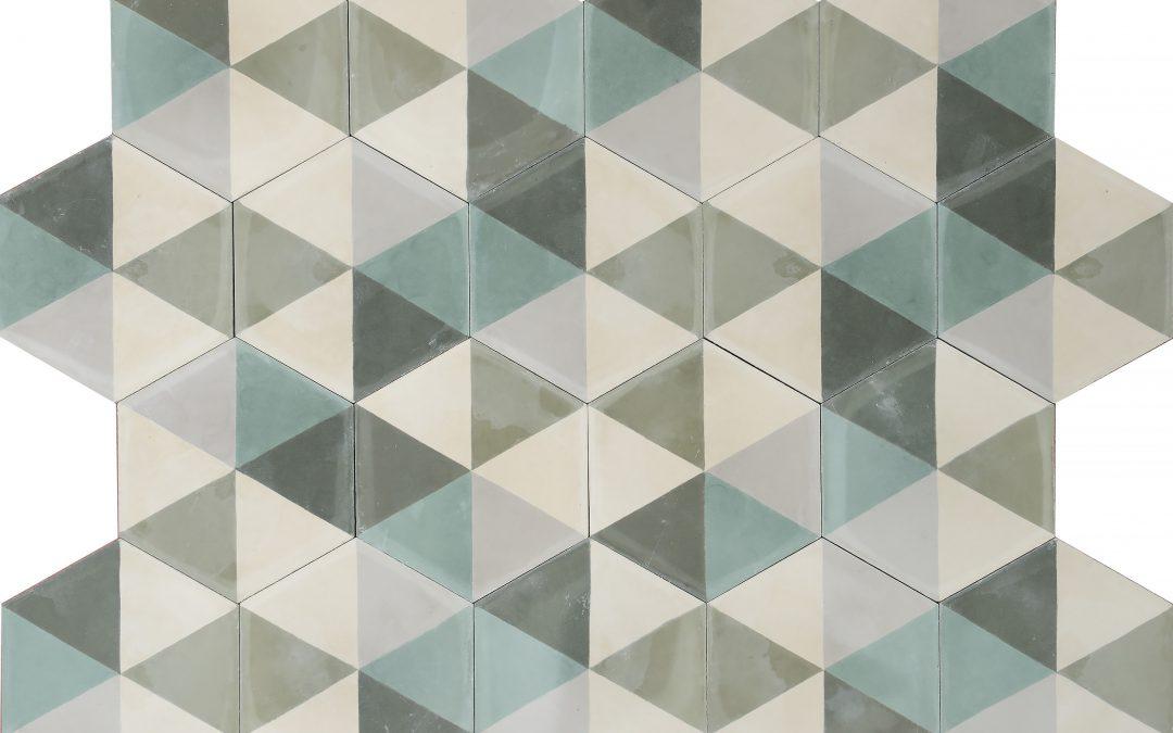 Popham Design Hex Zulu – camouflauge/bone/warm grey/dark celadon/moss/bone