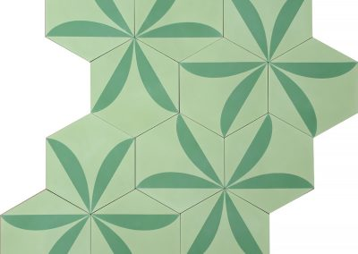 Lily - linden green/basil