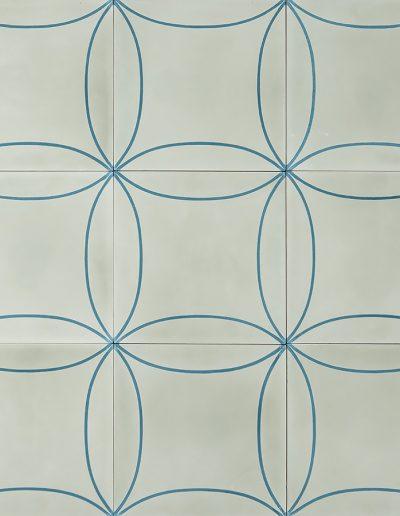 Mari - elderflower/vintage blue