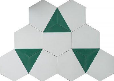 Casa - Pure white/Pea green