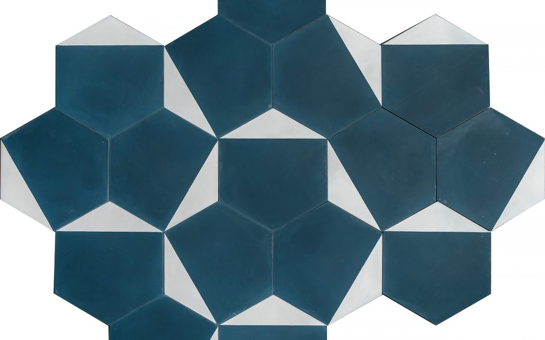 Casa – oxford blue/ivory
