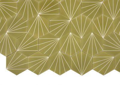 Dandelion - pistachio/pure white