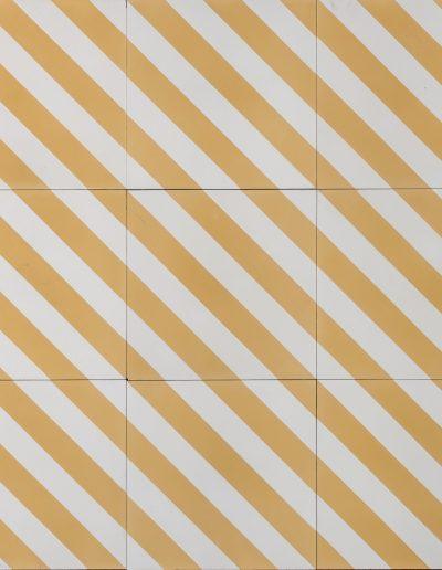 Herringbone - banana white (1)