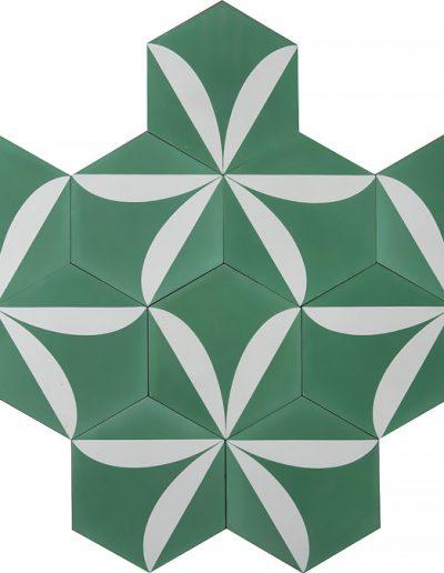 Lily - pea green pure white (2)