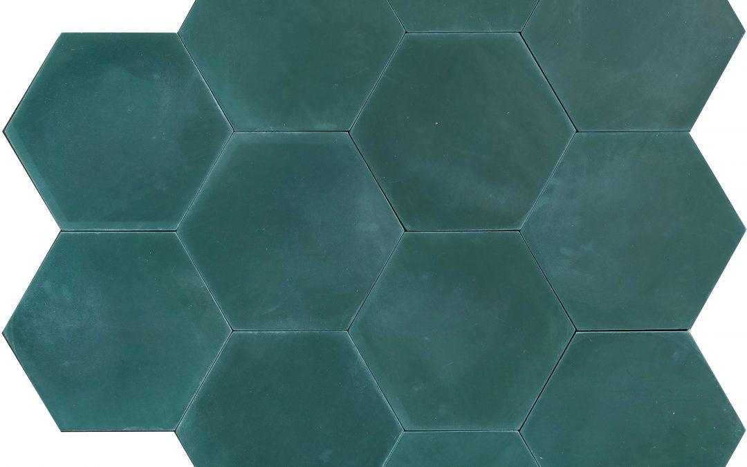 Enfärgat MINI HEX – bottle green