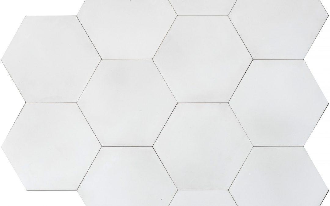 Enfärgat MINI HEX – ivory
