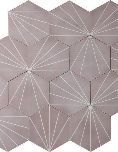 Dandelion - violet/white