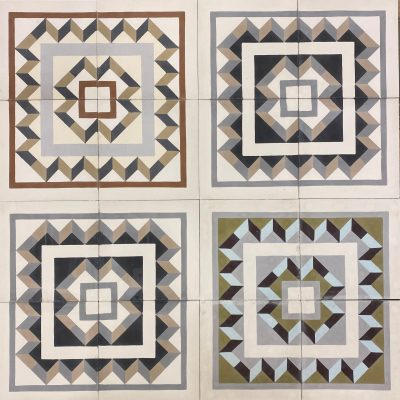 Raval corner tiles patchwork