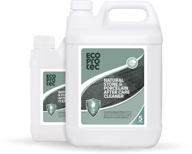 EcoProtec Natural Stone & Porcelain aftercare cleaner 0,5L